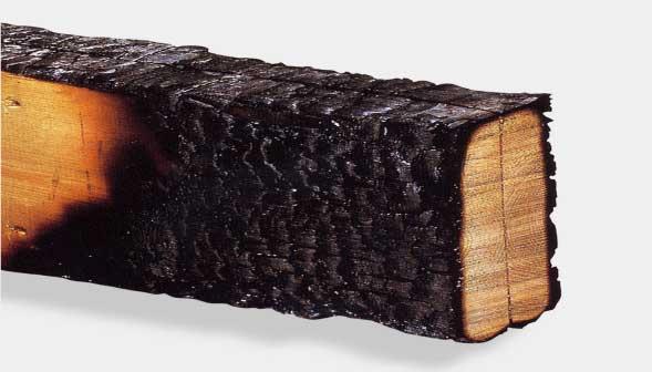 木は、鉄より火に強い。